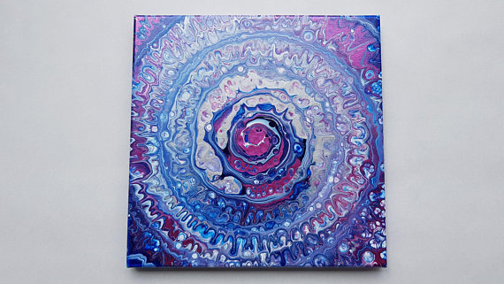 Can I Use Acrylic Paint For Spin Art